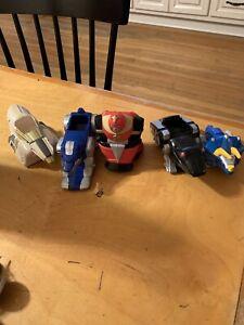 McDonalds Mighty Morphin Power Rangers Toy  Set Lot Of 5 Zord - VTG  p83