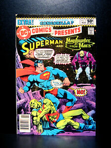 COMICS: DC Comics Presents #27 (1980), 1st Mongul app/J. Starlin art -(Superman)