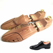 Men Shoe Tree Red Cedar Scent Wood Stretcher Adjustable US Sizes 10-11 Shoes