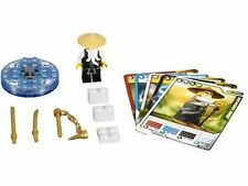 Lego 2255 Ninjago:The Golden Weapons: Spinners: Sensei Wu Minifig + 5 Game Cards