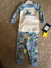 "NWT Hartstrings ""Great Outdoors"" LS Camping Pajama Set Sz: 12mth RP:$ 40"