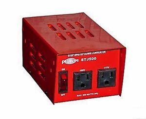 New Philmore Japanese Use 500 watt 100/117 volt Step Up or Step Down Transformer