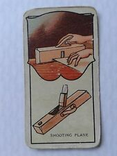 Carreras Cigarette Card Tools and how to use them SMOOTHING PLANE