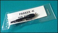 Parker 45 Fountain Pen Nib & Feeder in Original Packaging, NOS, USA (Ref# 1383)