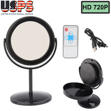 Mini Hidden Camera Mirror Video Recorder Camcorder Audio HD Spy Equipment