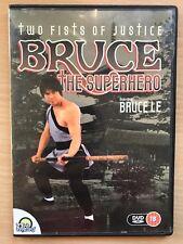 BRUCE Le BRUCE THE SUPERHERO ~ 1984 Martial Arts / Kung Fu Film UK DVD