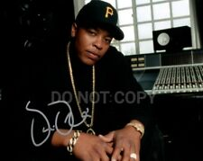 Genuine Dr Dre NWA Hand Signed Autograph +Certificate of Authenticity SHA AFTAL