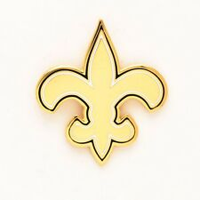 "New Orleans Saints 1"" Metal Lapel Pin [NEW] NFL Tuxedo Tie Clip Suit Button"