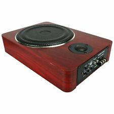8'' Car Subwoofer Under-Seat Speaker Audio Power Amplifier Super Bass Loud Dome