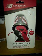 New balance shoe safety light