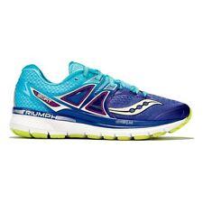 Women's Saucony TRIUMPH ISO 3 Running Shoes Purple/Blue/Citron