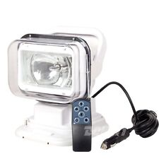 55w HID Xenon Search Work Light 360º Magnetic Remote Control Jeep Boat Lamp 12v