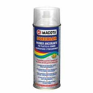 MACOTA Duecolor Primer Ancorante per Plastica e Gomma 400ml Vernice Spray Tuning
