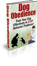 Dog Obedience pdf ebook Free Shipping With Master Resell Rights