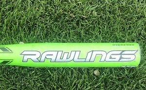 """Rawlings Youth Baseball Bat Plasma Composite 30/18 YBPLAD 2 1/4"""" (-12) BPF 1.15"""