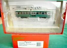 HO scale  Bachmann Spectrum Brooklyn and Queens Transit #8454 Peter Witt DCC.