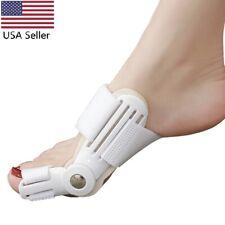 2xBig Toe Bunion Hallux Valgus Straightener Splint Corrector Separator Protector