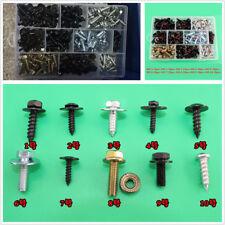220 Pcs Car Body Fenders M4 M5 M6 Fix Screws Metal Cross Self Tapping Screws Kit