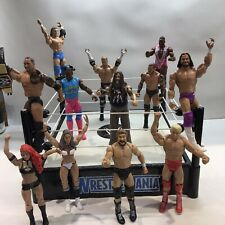WWE / WWF Wrestling Figure Bubdle With Spring Wrestlemania Ring - Good Condition