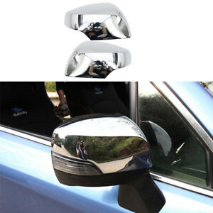 For Subaru forester 13-18 XV 12-17 ABS Chrome rear view mirror cover trim 2PCS