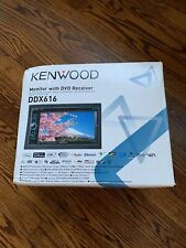 Kenwood DDX616 Monitor With DVD Receiver Complete in Box