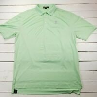Peter Millar Summer Comfort Golf Polo Mens Large Performance Short Sleeve P137