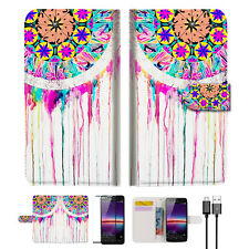 Dream Catcher Wallet TPU Case Cover For HUAWEI Y3 II 2 -- A015