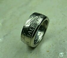Half Crown Coin Ring size Y