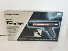 Vintage Sears Craftsman Inductive Timing Light 9 2137 With Original Box Amp Manual