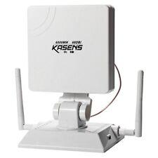 KASENS KS1680 6000MW 68DBI 2.4G Antenna Wireless USB Adapter WiFi Decoder White