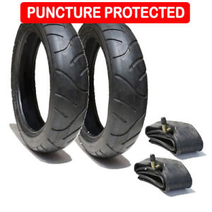 QUINNY SPEEDI TYRE AND TUBE SET REAR WHEELS - Puncture Protected