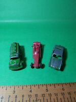 Vintage Tootsie Toy Diecast cars Lot of Dragster, Tanker and sedan