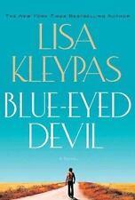 Blue-Eyed Devil Kleypas, Lisa Hardcover