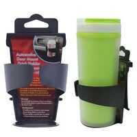 Black Universal Vehicle Car Truck Door Mount Drink Bottle Cup Holder Stand SY