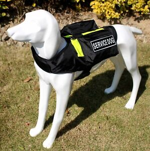 Pockets Bags Service Dog Harness vest Removable Patches All Sizes Available