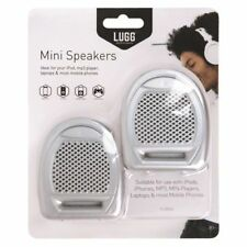 New Lugg Mini Speakers Ideal for Laptops, iPod, MP3 Players, Mobile phone Gaming