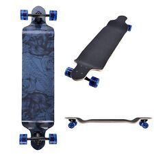 "Pro Complete 41""x9.75"" Longboard Cruiser Canadian Maple Skateboard Downhill"