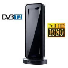 Antenne terrestre intérieure TNT TV HD DVB-T2 AMPLIFICATEUR FULL HD