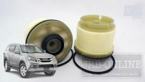 Isuzu MUX Mu-x 4JJ1 Turbo CRD 3.0L 12/13 on R2619P 2x FUEL FILTER SERVICE KIT