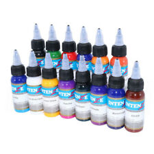 14 Basic Colors Tattoo Ink Set 30ml Professional Tattoo Ink Makeup Pigment Kit