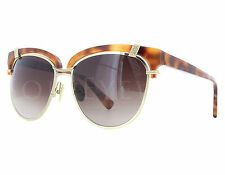 NEW Oscar De La Renta ODLRS 224 239 Tortoise / Brown Gradient Sunglasses