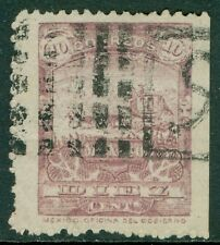 MEXICO : 1898. Scott #284 Very Fine, Used. Large stamp. Catalog $175.00.