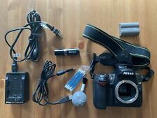 Nikon D90 12.3MP DSLR - Body, Battery, Charger, Cables, Carrying Case