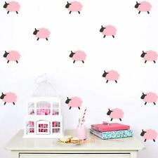 DIY Removable Art Wall Mural Stickers Lovely Sheep Home Decor Room Decorations