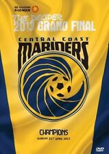 CENTRAL COAST MARINERS A-LEAGUE CHAMPIONS DVD BRAND NEW SEALED GRAND FINAL!