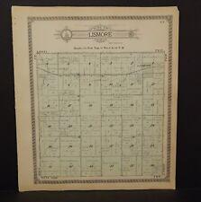 Minnesota Nobles County Map Lismore Township 1914  L15#37