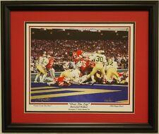 Georgia Bulldogs football Herschel Walker framed print 1980 National Champions