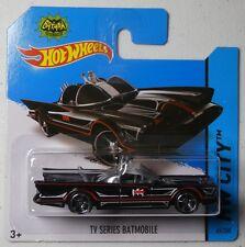 Hot Wheels 2014 #065/250 TV SERIES BATMOBILE Batman HW CITY Short Card