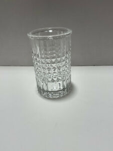 Pottery Barn Pressed Glass Toothbrush Holder