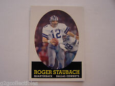 Roger Staubach (Lot of 6) 2007 Topps TURN BACK THE CLOCK (#21 of 22) Football